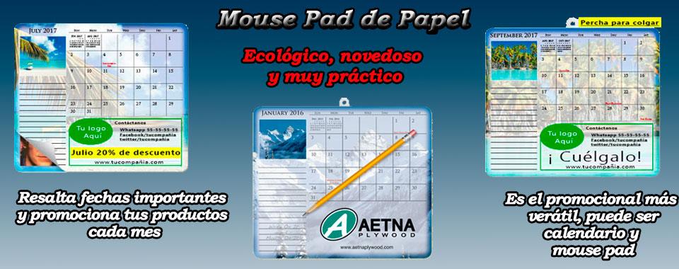 Mouse pad de papel