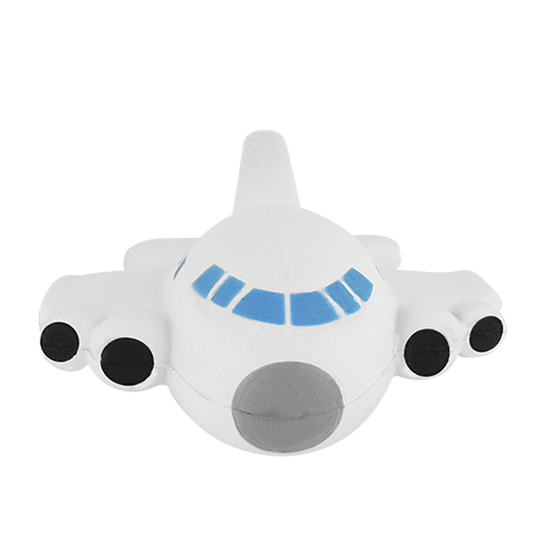 Pelota-antiestres en forma de avión