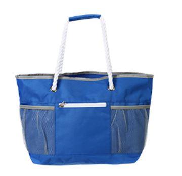 detalle de de bolsa para playa