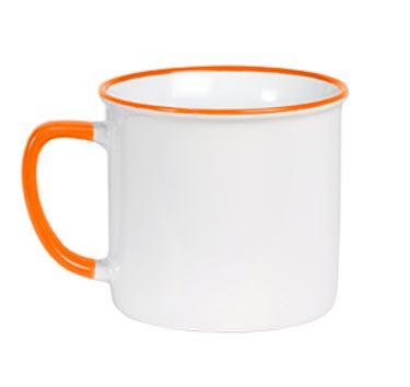 portadad de colores de taza de cerámica