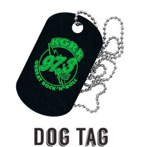 "Placa de identificación ""Dog Tag"""